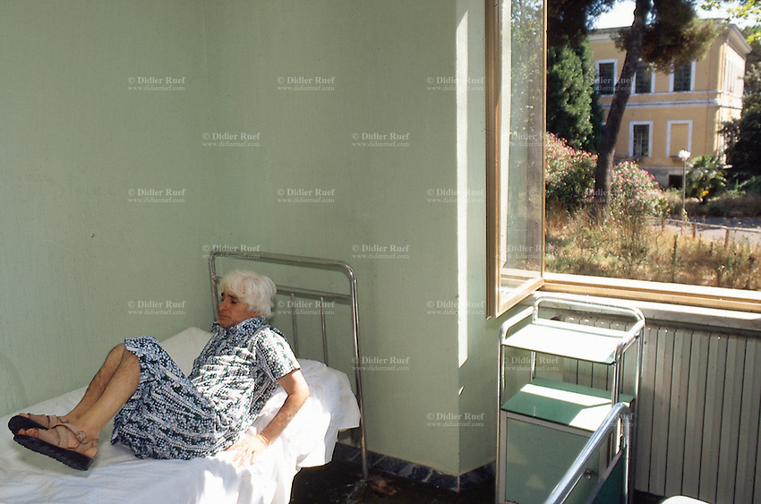 Santa Maria della Pieta. Mental hospital. Madness. Patient. Room ...