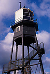 A727Y2 Victorian lighthouse beacon structures Leading Lights Dovercourt Essex England