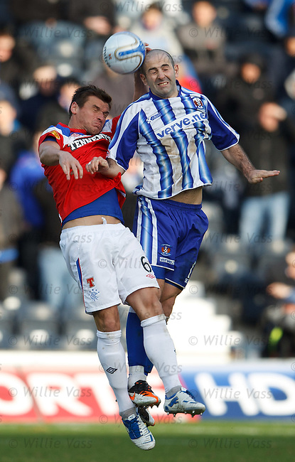Lee McCulloch and Gary Harkins