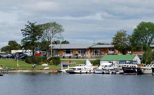 Lough Ree Yacht Club is a renowned après-sail party venue, but even on its Quarter Millennium, it had to be very careful in maintaining social distancing