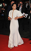 Michelle Rodriguez at the &quot;Widows&quot; opening film gala, 62nd BFI London Film Festival 2018, Cineworld Leicester Square, Leicester Square, London, England, UK, on Wednesday 10 October 2018.<br /> CAP/CAN<br /> &copy;CAN/Capital Pictures