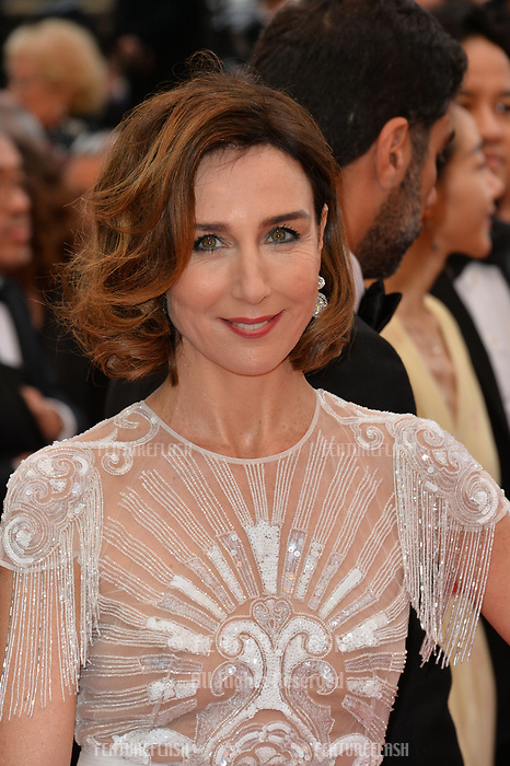 """CANNES, FRANCE. May 20, 2019: Elsa Zylberstein  at the gala premiere for """"La Belle Epoque"""" at the Festival de Cannes.<br /> Picture: Paul Smith / Featureflash"""