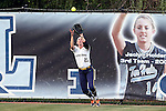 25 April 2016: Notre Dame's Karley Wester. The University of North Carolina Tar Heels hosted the University of Notre Dame Fighting Irish at Anderson Stadium in Chapel Hill, North Carolina in a 2016 NCAA Division I softball game. UNC won the game 7-6.