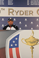 Ryder Cup 2012 Tiger Woods Interview
