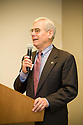 Rod Diridon of the Mineta Transportation Institute. He is a member of the California High Speed Rail Authority Board. This forum entitled Strategies for a Sustainable Santa Clara County: Developing Goals and Planning Tools was held at the Silicon Valley Community Foundation (SVCF) in Mountain View, CA from 9 AM to Noon on 1/25/2008. The event was sponsored by Leagues of Women Voters of Santa Clara County and Office of County Supervisor Liz Kniss.