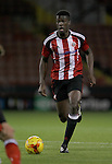 Sheffield United's Joshua Cummings during the FA Youth Cup First Round match at Bramall Lane Stadium, Sheffield. Picture date: November 1st 2016. Pic Richard Sellers/Sportimage