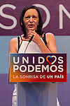 Spanish politician Carolina Bescansa during the closing of the electoral campaign of Unidos Podemos. 24,06,2016. (ALTERPHOTOS/Rodrigo Jimenez)