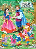 Interlitho, Nino, CUTE ANIMALS, puzzle, paintings, snow white, prince(KL3916,#AC#) illustrations, pinturas, rompe cabeza
