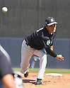 Masahiro Tanaka (Yankees),<br /> FEBRUARY 28, 2017 - MLB :<br /> New York Yankees starting pitcher Masahiro Tanaka pitches during a spring training baseball game against the Detroit Tigers at George M. Steinbrenner Field in Tampa, Florida, United States. (Photo by AFLO)