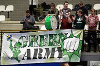 GRONINGEN - Volleybal, Abiant Lycurgus - SSS, Alfa College , Eredivisie , seizoen 2017-2018, 02-12-2017 SSS supporters