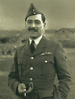 BNPS.co.uk (01202 558833)<br /> Pic: Spink & Son/BNPS<br /> <br /> Squadron Leader Harold Starr <br /> <br /> The medals of a fearless pilot who was machine-gunned in his parachute in one of the most 'disgraceful' acts of the Battle of Britain have emerged for sale.<br /> <br /> Squadron Leader Harold Starr bailed out of his stricken Hurricane at 15,000ft following a dogfight with the Luftwaffe in August 1940.<br /> <br /> As he plummeted towards the ground three Messerschmidt 109s fighter planes rounded on him.<br /> <br /> They opened fire on the defenceless airman whose body landed at a brickworks at Eastry, near Deal, Kent.<br /> <br /> A horrified gardener who witnessed the 'Nazi act of barbarity' from the ground described how the German aircraft 'piled in' on him.