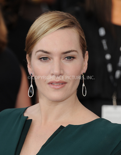 WWW.ACEPIXS.COM<br /> <br /> January 30 2016, LA<br /> <br /> Kate Winslet arriving at the 22nd Annual Screen Actors Guild Awards at the Shrine Auditorium on January 30, 2016 in Los Angeles, California<br /> <br /> By Line: Peter West/ACE Pictures<br /> <br /> <br /> ACE Pictures, Inc.<br /> tel: 646 769 0430<br /> Email: info@acepixs.com<br /> www.acepixs.com