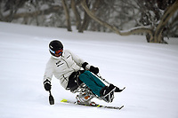 Sam Tait / Skier<br /> Australian Paralympic Committee<br /> 2017 Alpine skiing training camp for <br /> 2018 Pyeongchang South Korea Paralympics<br /> Perisher NSW / August 17th 2017<br /> &copy; Sport the library / Jeff Crow