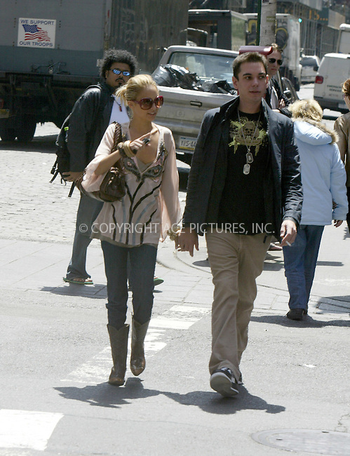 WWW.ACEPIXS.COM ** ** ** ....NEW YORK, MAY 24, 2005....Nicole Richie and Adam Goldstein (DJ AM) stroll to a luncheon with Ashley Olsen at Mercer Kitchen. Shortly after the threesome go shopping at Jill Stuart in SoHo. With purchases in hand, the next stop is trendy Kirna Zabete. Ashley Olsen does her shopping downstairs. Nicole Richie on the other hand does a bit of kissy with boyfriend Adam Goldstein and her obligatory Nicole Richie fashion show. After trying on a few things, it's time for Ashley Olsen to take leave of their shopping trip.....Please byline: Philip Vaughan -- ACE PICTURES... *** ***  ..Ace Pictures, Inc:  ..Craig Ashby (212) 243-8787..e-mail: picturedesk@acepixs.com..web: http://www.acepixs.com