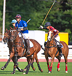 August 31, 2019:  The Farmington Polo Club [red] defeated Aspetuck of Westport, Connecticut 14-10.  The rivaled match took place at Farmington Polo Club, Farmington Connecticut. Heary/Eclipse Sportswire/CSM