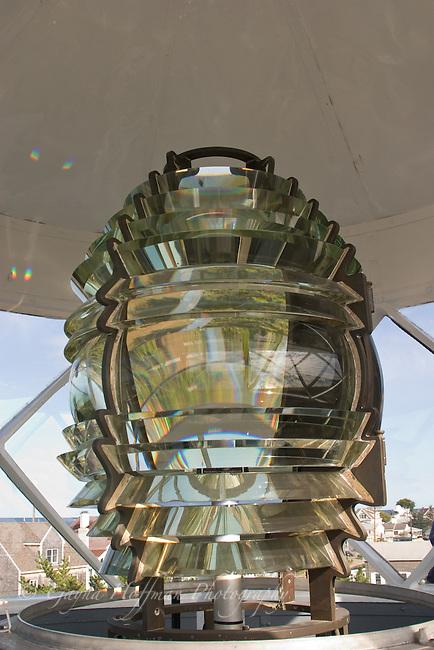 Fresnel lens. Plum Island Lighthouse, Newburyport, MA