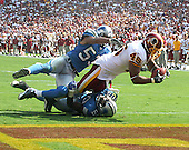 Landover, MD - October 7, 2007 -- Detroit Lions against the Washington Redskins at FedEx Field in Landover, Maryland on Sunday, October 7, 2007..Credit: Dexter Powell / CNP