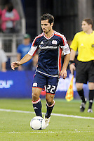 Benny Feilhaber (22) midfielder New England in action... Sporting Kansas City defeated New England Revolution 3-0 at LIVESTRONG Sporting Park, Kansas City, Kansas.