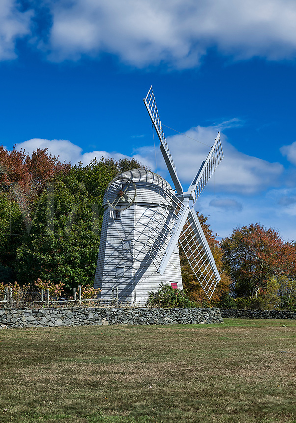 The Jamestown Windmill, Jamestown, Rhode Island, USA.