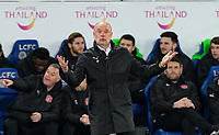 Fleetwood Town Manager Uwe Rosler during the FA Cup 3rd round replay  match between Leicester City and Fleetwood Town at the King Power Stadium, Leicester, England on 16 January 2018. Photo by Andy Rowland.