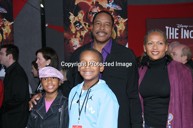 Dave Winfield &amp; family<br />