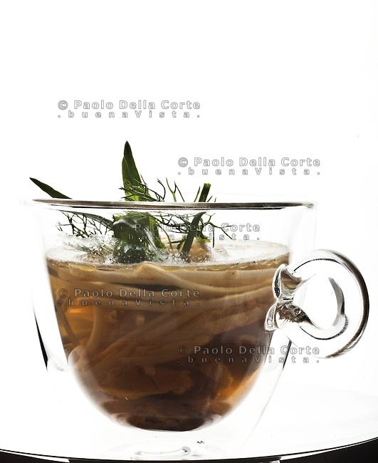 Venezia - Vecio Fritolin. Cicken soup with celeric