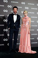 Fernando Andina and the illustrator Rebeca Khamlichi attend the 2017 'GQ Men of the Year' awards. November 16, 2017. (ALTERPHOTOS/Acero)