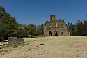 26/01/12. Gondar, Ethiopia. The Royal Enclosure, or Fasil Gibbi, houses several castles of the Gondarene Emperors. Gondar was the imperial capital from the 17th to the mid 19th centuries. Photo credit: Jane Hobson.