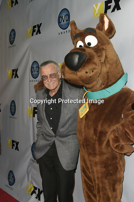 Stan Lee &amp; Scooby Doo<br />The 3rd Annual DVD Exclusive Awards<br />The Wiltern Theater LG<br />Los Angeles, CA, USA<br />December 2, 2003 <br />Photo By Celebrityvibe.com /Photovibe.com