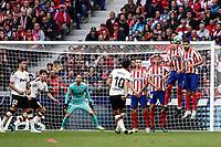 2019 La Liga Football Atletico Madrid v Valencia Oct 19th