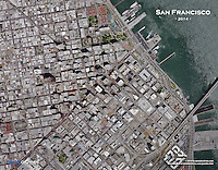 aerial photo puzzle of San Francisco, California, 2014