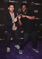 "BEVERLY HILLS - SEPTEMBER 13:  Adam Scott and Craig Robinson at the 2017 PaleyFest Fall TV Previews - FOX - ""Ghosted"" at the Paley Center for the Media on September 13, 2017 in Beverly Hills, California. (Photo by Scott Kirkland/PictureGroup)"