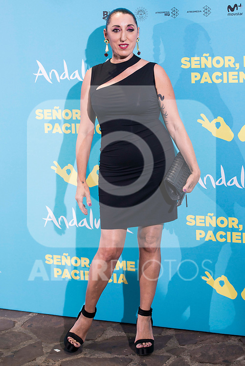 "Rossy de Palma attends to premiere of ""Senor, dame paciencia"" at Fortuny Palace in Madrid, June 15, 2017. Spain.<br /> (ALTERPHOTOS/BorjaB.Hojas)"