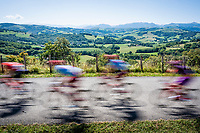 crossing the Basque Country<br /> <br /> Stage 11: Saint-Palais to Urdax-Dantxarinea (180km in The Basque Country > FRA & ESP) <br /> La Vuelta 2019<br /> <br /> ©kramon