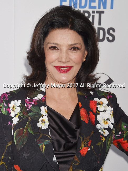 SANTA MONICA, CA - FEBRUARY 25: Actress Shohreh Aghdashloo attends the 2017 Film Independent Spirit Awards at the Santa Monica Pier on February 25, 2017 in Santa Monica, California.