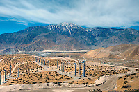 Coachella Valley, Wind Turbines, Desert, Electricity, Energy, Green Power, Palm Springs, San Gorgonio Pass, Whitewater, Wind Farm, clean, energy,  environmentally friendly, farm, turbine, unique