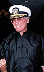 Larry Hagman &   ( DALLAS ).attending a Broadway show in New York City. August 1988