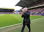 Crystal Palace's Alan Pardew applauds the crowd<br /> <br /> - English Premier League - Crystal Palace vs Liverpool  - Selhurst Park - London - England - 6th March 2016 - Pic David Klein/Sportimage