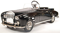 BNPS.co.uk (01202 558833)<br /> Pic: EastBristolAuctions/BNPS<br /> <br /> £2500 - An incredibly rare vintage 1960's Tri-ang prototype Bentley S2 child's pedal car. <br />   <br /> Toy story...<br /> <br /> A remarkable lifetime collection of 30 vintage toy cars has emerged for sale for more than £65,000.<br /> <br /> The fleet of rare pedal cars were acquired over almost half a century by retired car garage owner David Worrow, 72.<br /> <br /> During their time with Mr Worrow they formed what was believed to be the biggest private collection of its kind in the world.