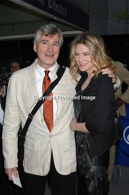 "John Patrick Shanley and Paula Devicq..atThe Broadway Opening of ""Faith Healer"" on May 4, 2006..at The Booth Theatre. ..Robin Platzer, Twin Images"