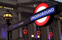 Picadilly Circus Underground station, London, UK. Picture by Manuel Cohen The use of this image may require further clearance / Merci de vous assurer que l'utilisation finale de l'image ne necessite pas d'autorisation supplementaire.