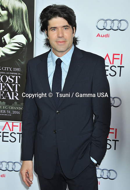 J.c. Chandor  at A Most Violent Year Premiere at the Dolby Theatre on November 5, 2014  in Los Angeles.