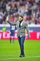 Rafael NADAL donne le coup d Envoi - 20.10.2012 - PSG / Reims - 9eme journee de Ligue 1 - Photo : Amandine Noel / Icon Sport