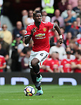 Manchester United's Paul Pogba in action during the premier league match at Old Trafford Stadium, Manchester. Picture date 13th August 2017. Picture credit should read: David Klein/Sportimage