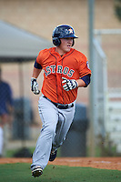 Houston Astros Brooks Marlow (72) during an instructional league game against the Atlanta Braves on October 1, 2015 at the Osceola County Complex in Kissimmee, Florida.  (Mike Janes/Four Seam Images)