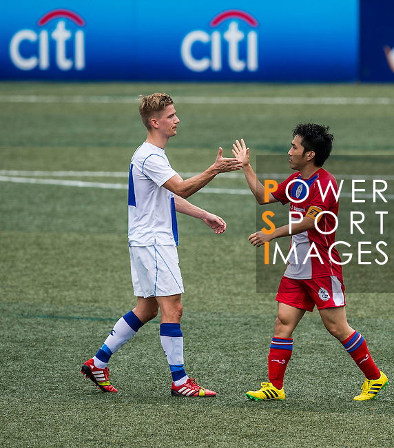 Yau Yee League Select vs HKFC Captain's Select during the Day 3 of the HKFC Citibank Soccer Sevens 2014 on May 25, 2014 at the Hong Kong Football Club in Hong Kong, China. Photo by Victor Fraile / Power Sport Images