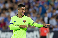 Philippe Coutinho of FC Barcelona during the match between CD Leganes v FC Barcelona of LaLiga, date 6, 2018-2019 season. Municipal de Butarque Stadium. Madrid, Spain - 26 SEP 2018.