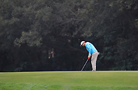 Thomas Aiken (RSA) on the 15th green during Round 3 of the UBS Hong Kong Open, at Hong Kong golf club, Fanling, Hong Kong. 25/11/2017<br /> Picture: Golffile | Thos Caffrey<br /> <br /> <br /> All photo usage must carry mandatory copyright credit     (© Golffile | Thos Caffrey)