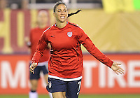 BOCA RATON, FL - DECEMBER 15, 2012: Shannon Boxx (7) of the USA WNT during an international friendly match against China at FAU Stadium, in Boca Raton, Florida, on Saturday, December 15, 2012. USA won 4-1.