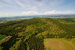 Aerial View of Chehalem Ridge, Washington
